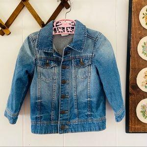 H&M Ombré Denim Jacket